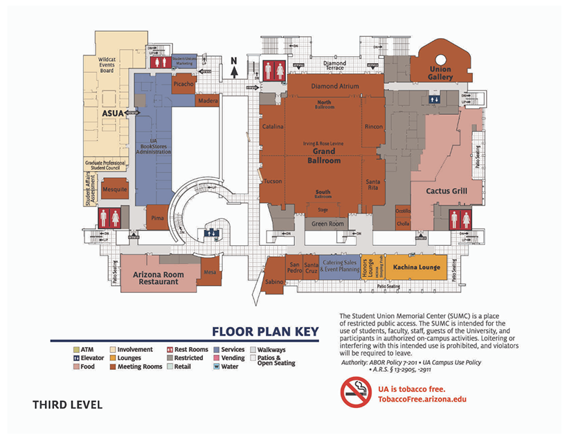 student union rooms